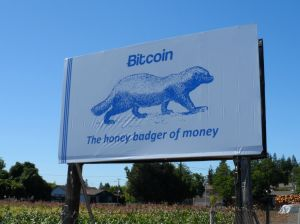 "Ver has referred to bitcoin as the ""honey badger"" of currency"
